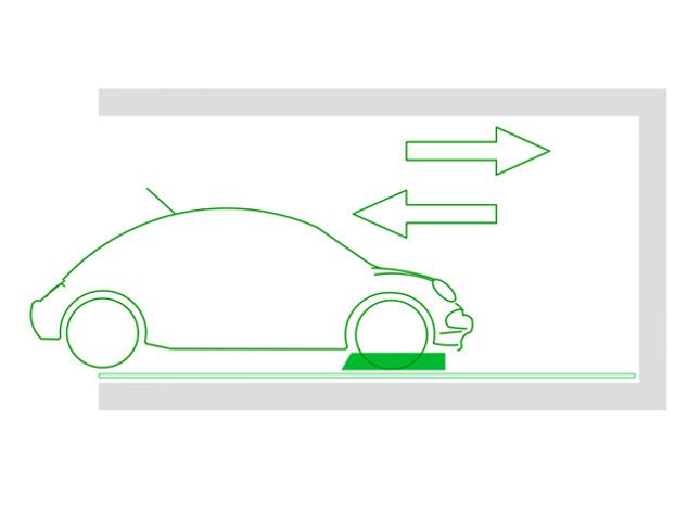 Piattaforma a Trazione per Auto
