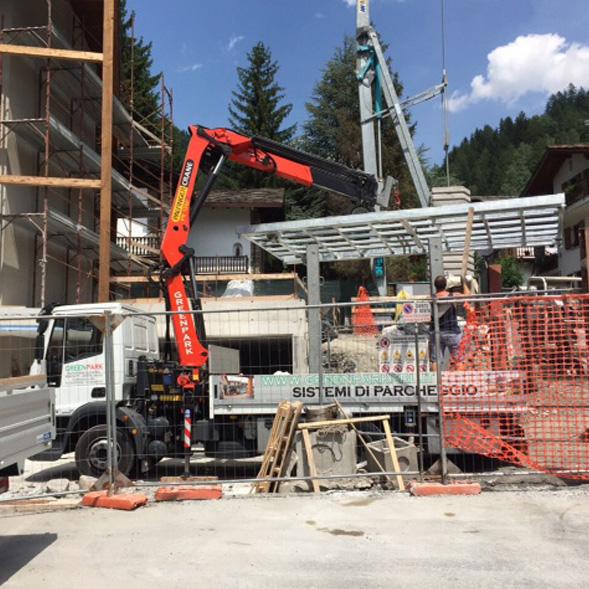 Ascensore per Auto in Val d'Aosta