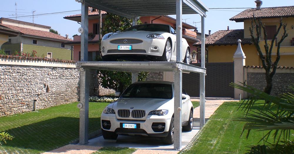Autoascensori parcheggi meccanizzati montacarichi for Montacarichi da balcone per legna